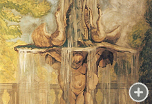 Fontaine baroque